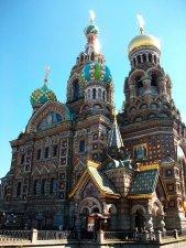 Eglise Saint Sauveur St Petersbourg