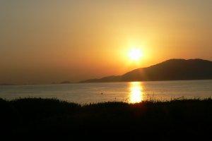 Couché de Soleil sur les Iles Sanguinaires