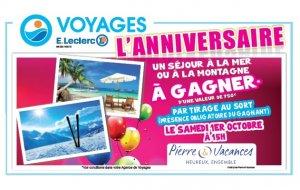 Votre agence Voyages E.LECLERC Le Blanc Mesnil fête ses 5 ans