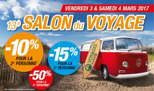 Salon du Voyage à Rezé (44) => 3&4 mars