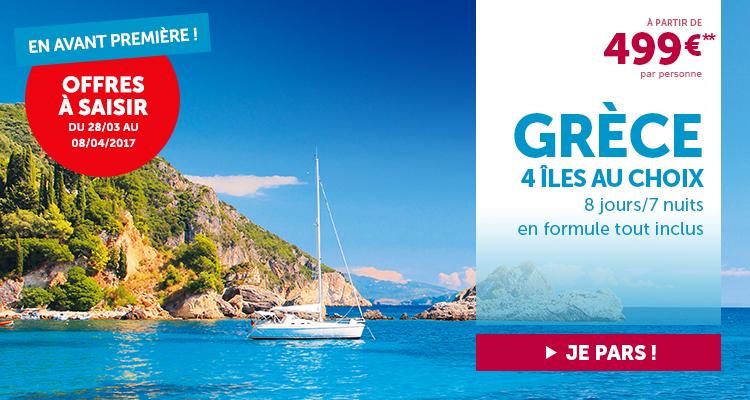 Offre 4 île grecques