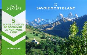 5 bonnes raisons de choisir la destination Savoie Mont Blanc cet été