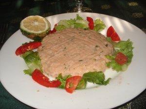 tartare de poisson à Cotonou